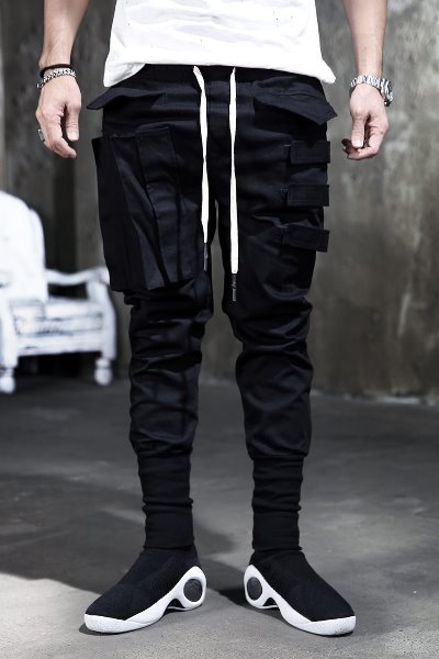 ByTheRByTheR Triple Buckle Cargo Pants