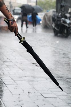 ByTheROriental Sword Umbrella