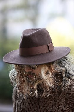 ByTheRByTheR Woolen Limp Fedora Hat
