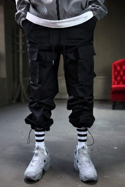 ByTheRAnkle Strap Wide Cargo Pants