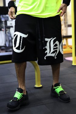 ByTheRByTheR Big Lettering logo Baggy Shorts