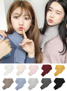 66GIRLSChunky Knit Muffler
