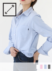 66GIRLSChest Pocket Button-Down Shirt