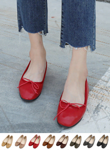 66GIRLSRound Toe Bow Flats