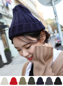 66GIRLSCuffed Knit Beanie