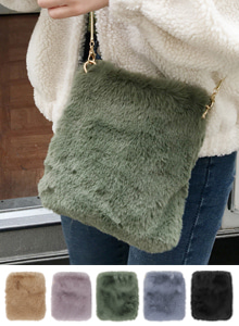 66GIRLSFuzzy Crossbody Bag