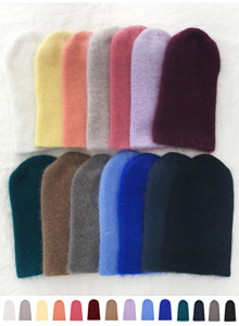 66GIRLSSolid Tone Knitted Beanie