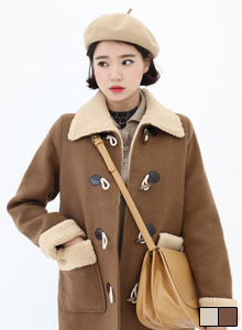 66GIRLSQuilted Lining Duffel Coat