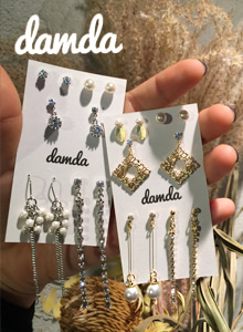 66GIRLSAssorted Stud and Dangling Earrings Set