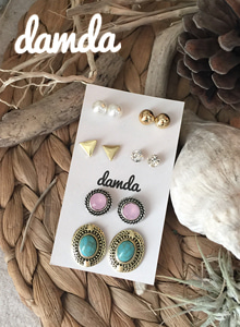 66GIRLSStud Earring Set