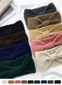 66GIRLSBow Knit Headband
