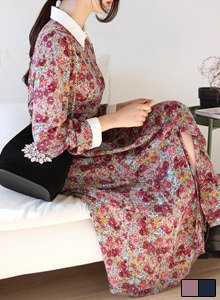 66GIRLSButton-Up Floral Dress