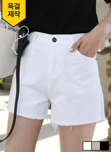 66GIRLSCutoff High Waist Shorts