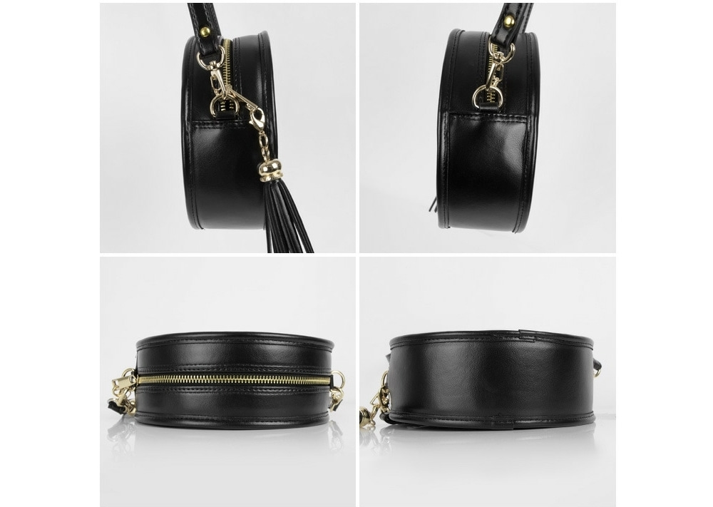 Tassel Detail Round Crossbody Bag   mixxmix   OFFICIAL ENGLISH WEBSITE 4bf6f63e15