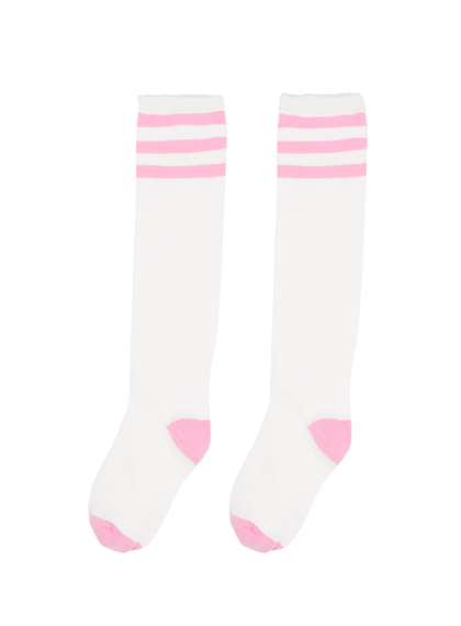 Stripe Detail Knee-High Socks