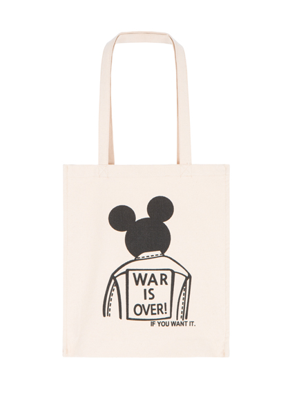 WAR IS OVER Eco Tote Bag