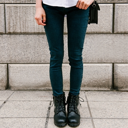 Simple Denim Skinny Jeans
