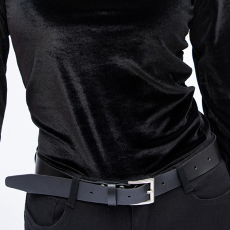 365 BASICSquare Buckle Leatherette Belt