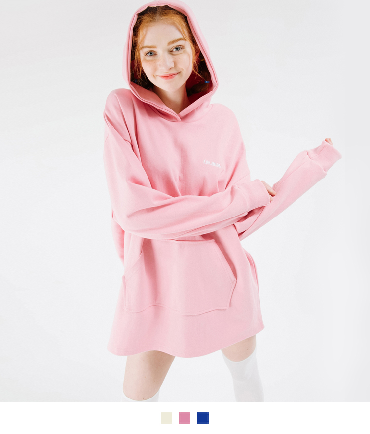I'M REAL Hooded Dress