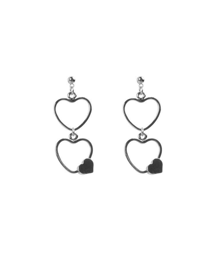 SEANLIPTriple Heart Earrings