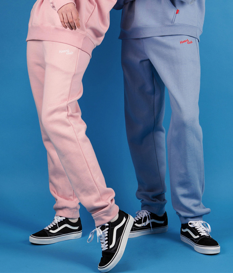 HEART CLUBEmbroidered Logo Sweatpants