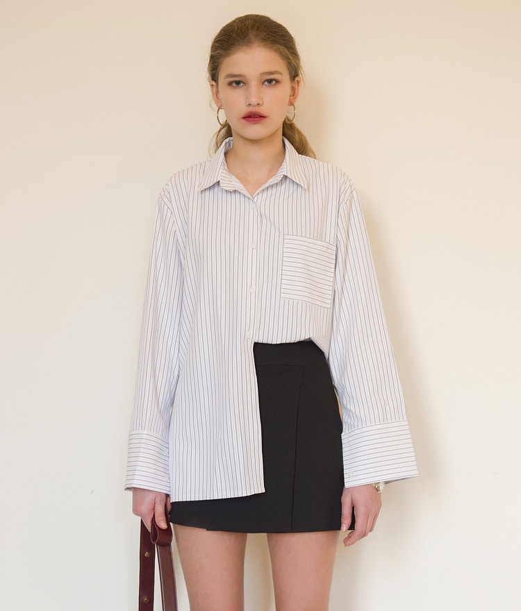 ESSAYChest Pocket Stripe Shirt