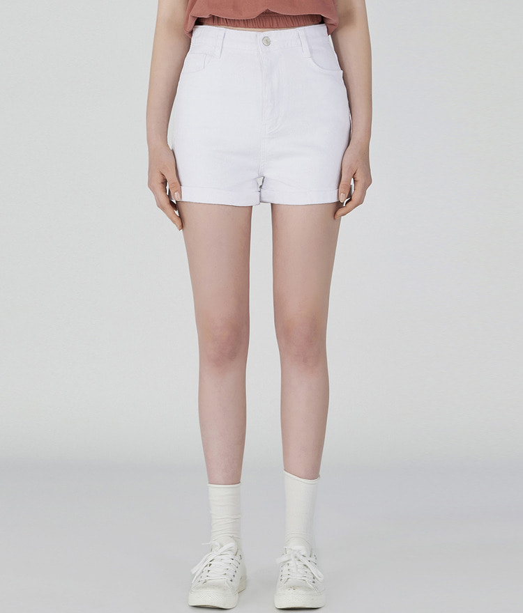 ESSAYCuffed Cotton Shorts