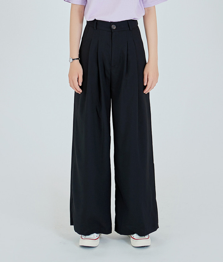 ESSAYHigh Waist Wide Leg Pants