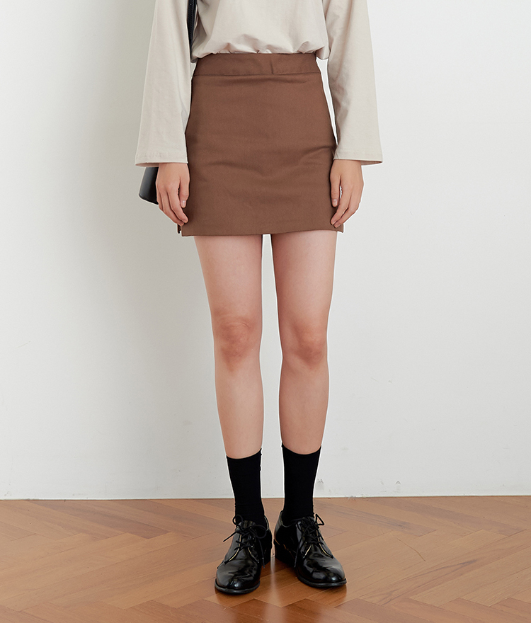 ESSAYSide Slit Straight Cut Skort
