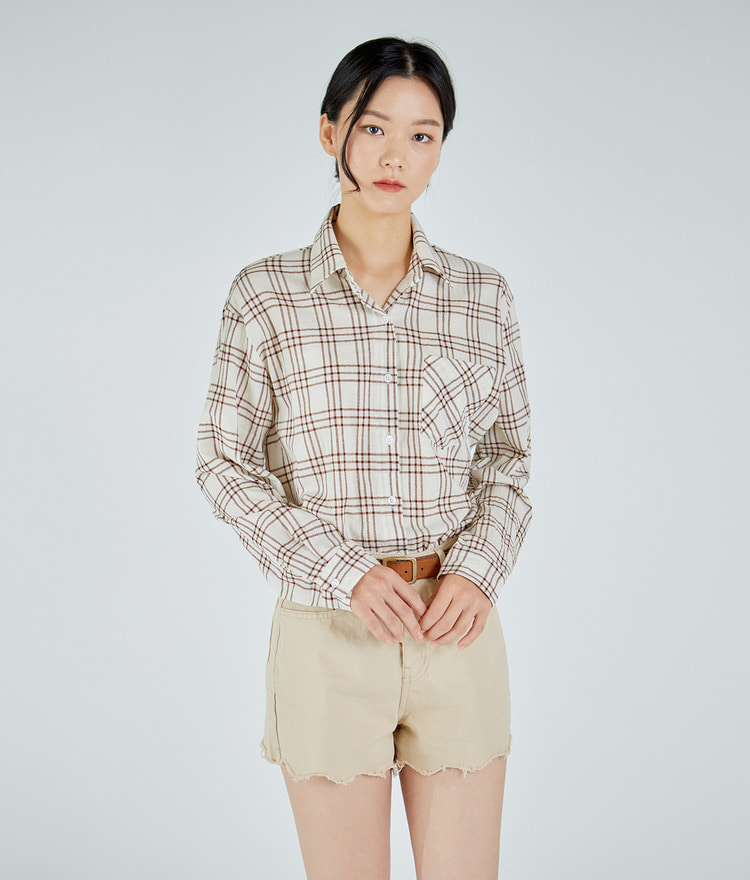 ESSAYPocketed Check Shirt