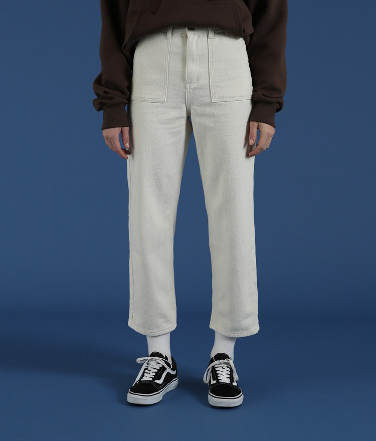 NEVERM!ND  Slim-Straight Cut Pants