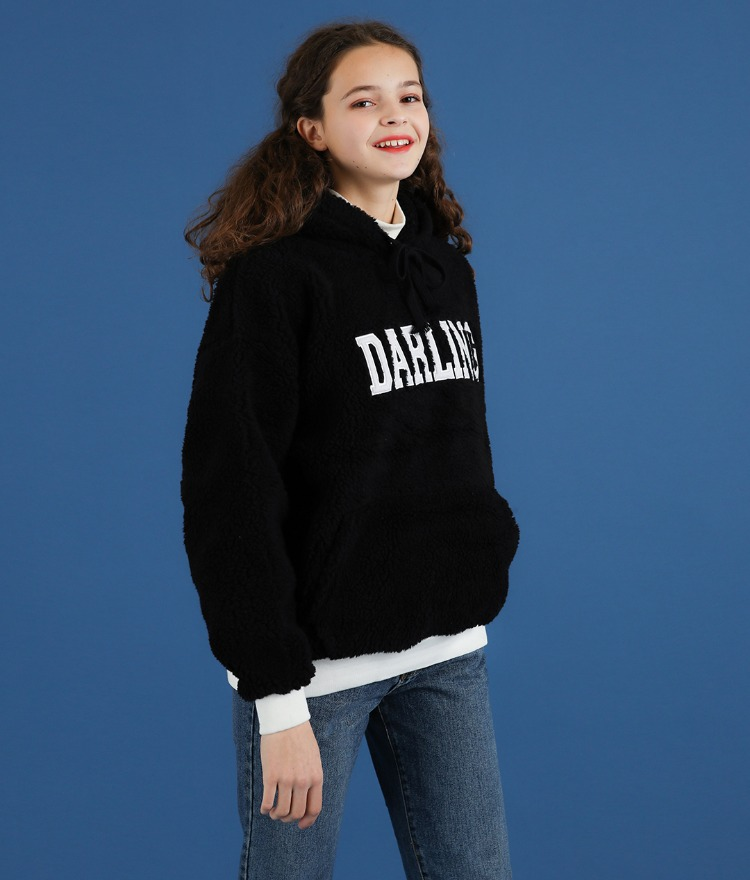 NEVERM!NDDARLING Sherpa Fleece Hoodie
