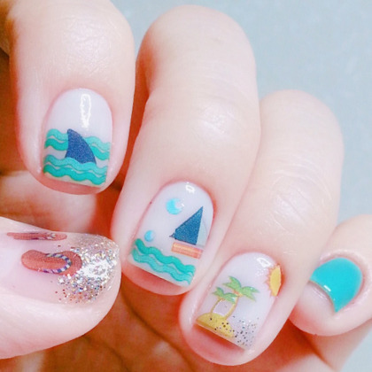 KUMA NAILUniqueサマー