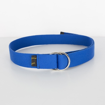 Double D-Ring Buckled Belt