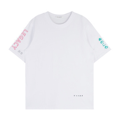 HIDE AND SEEKMultiple Embroidered Lettering T-Shirt