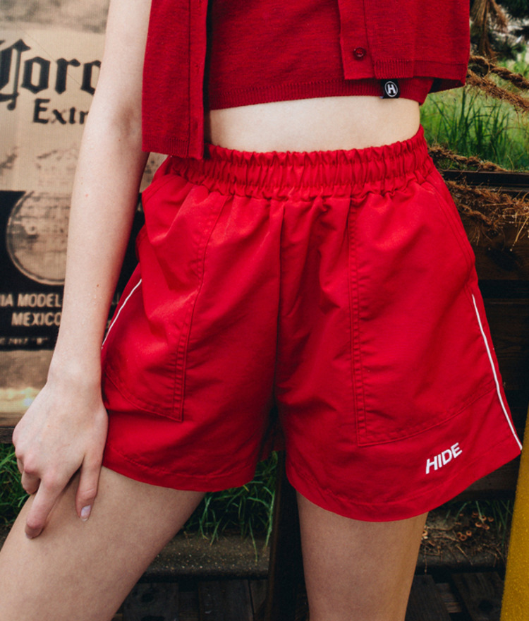 Piping Short Pants