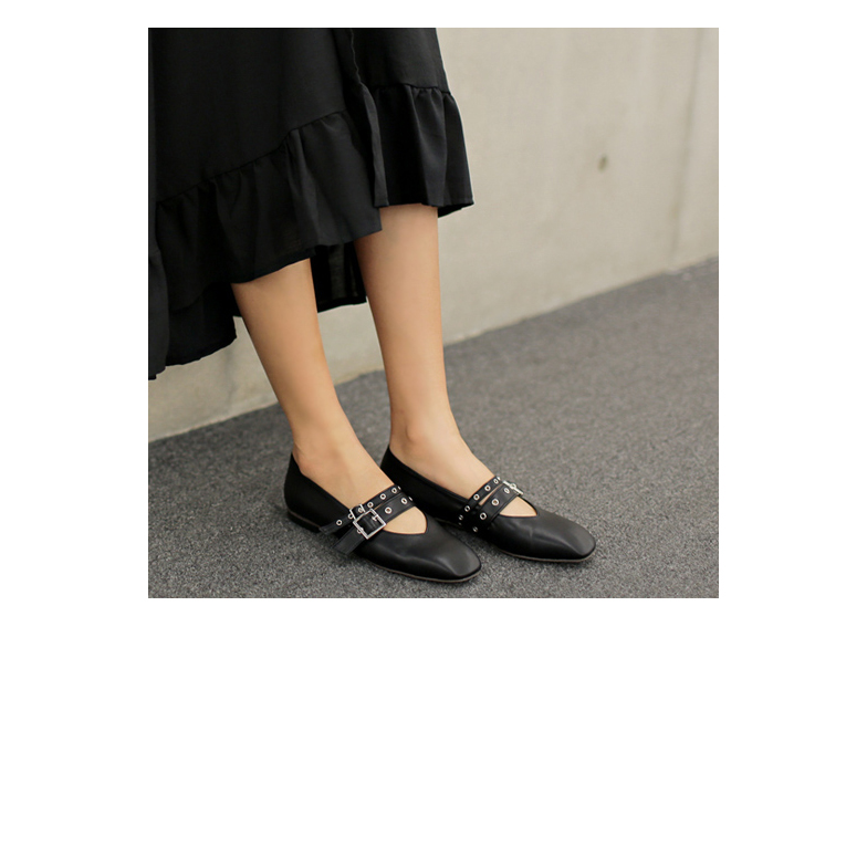 Withipun Buckle Strap Flats