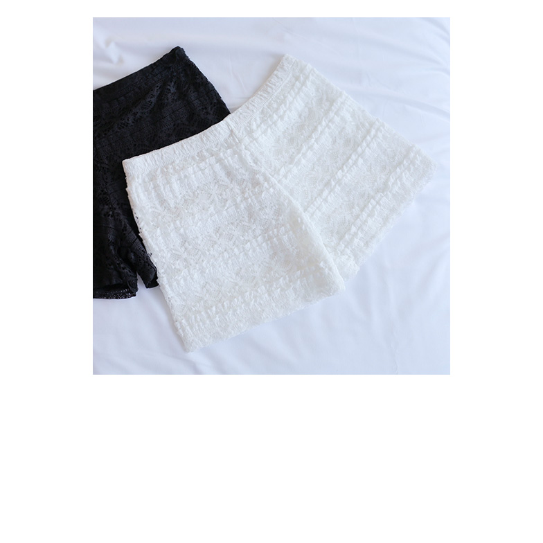Withipun Lace Overlay Safety Shorts