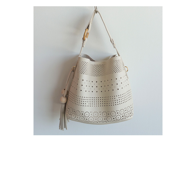 Withipun Perforated Shoulder Bag