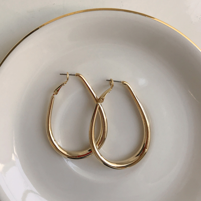 Withipun Gold Hoop Earrings