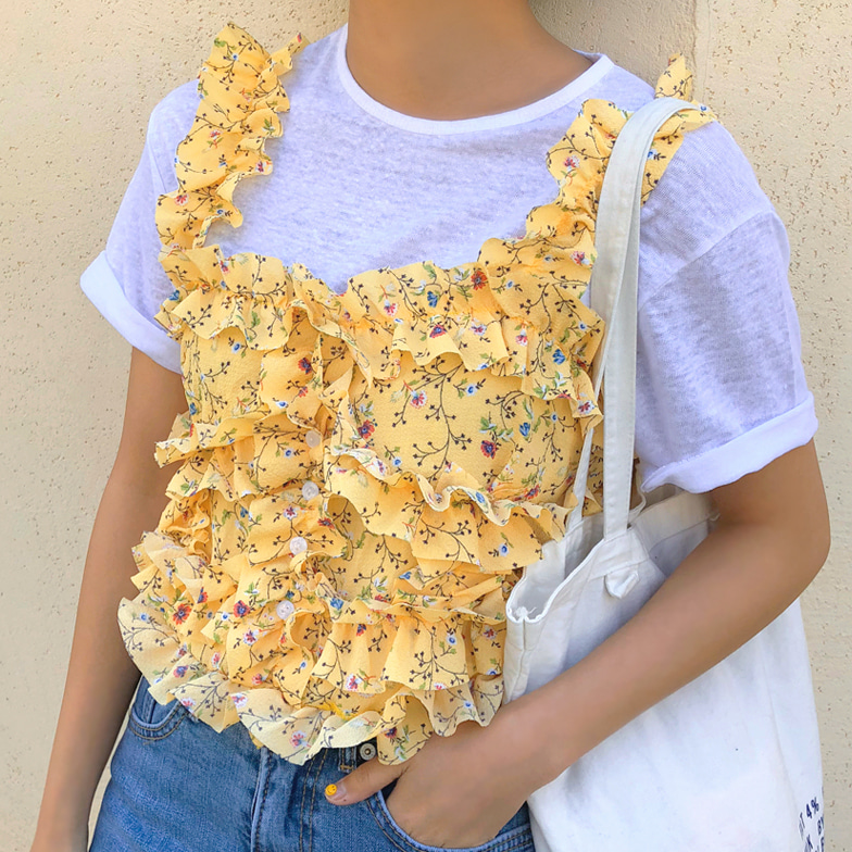Withipun Frill Floral Cami