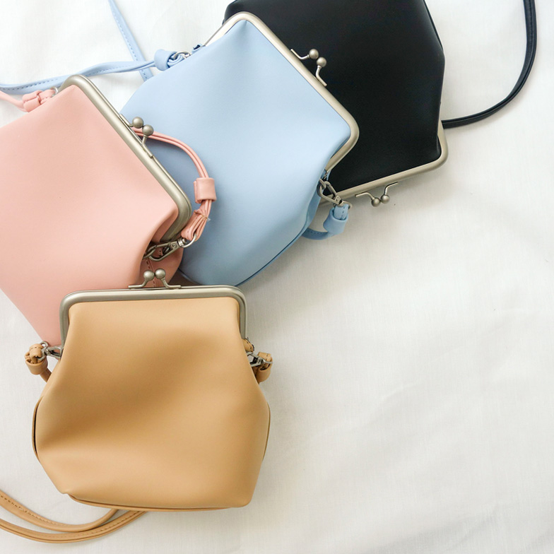 Withipun Clasp Fastening Shoulder Bag