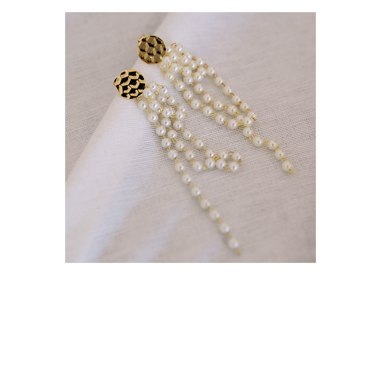 Withipun Faux Pearl Drop Earrings