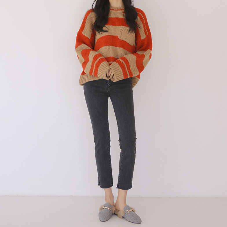 Withipun Raw Hem Fleece Lined Skinny Jeans