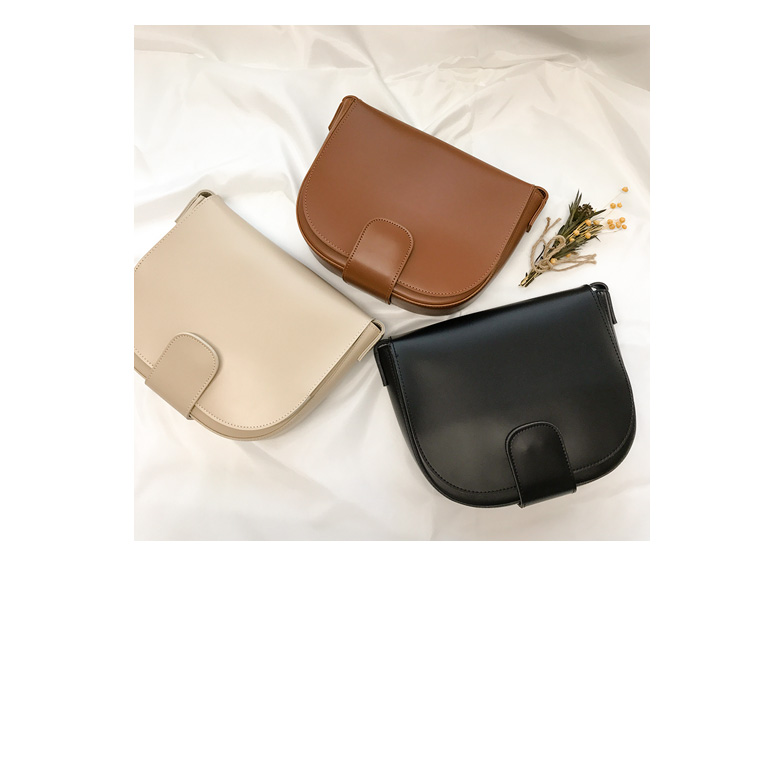 Withipun Faux Leather Saddle Bag