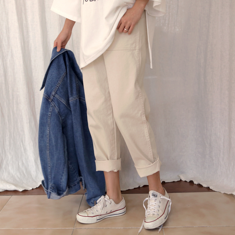 Withipun High Waist Loose Fit Pants