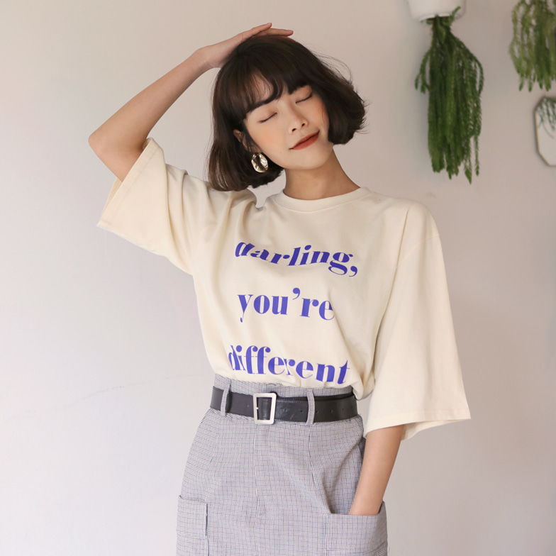 Withipun Short Sleeve Loose Fit T-Shirt
