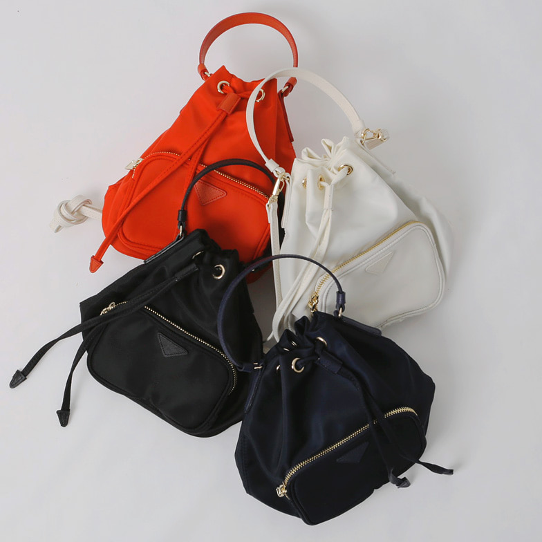 Withipun Drawstring Bucket Bag