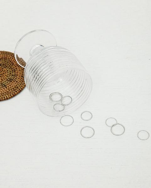 simple line ring set