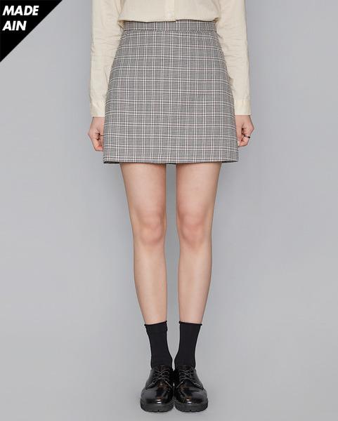 FRESH A check skirt (2 colors)